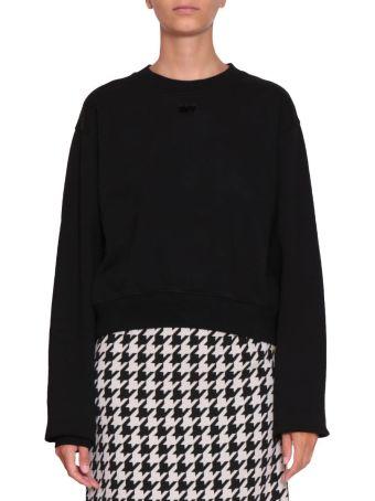 Off-White Arrow Cotton Sweatshirt