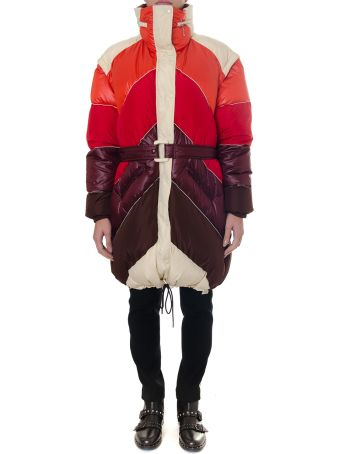 Golden Goose Ebra Multicoloured Down Jacket