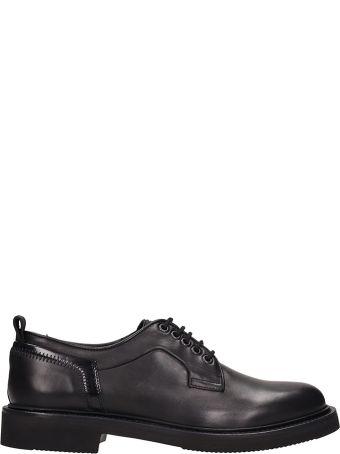 Bruno Bordese Black Leather Laces