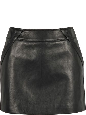 Saint Laurent Skirt Mini Leather