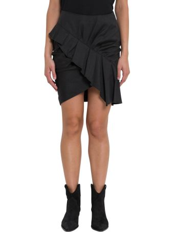 Isabel Marant Étoile Short Skirt With Rouches