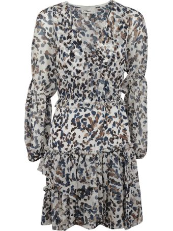 3.1 Phillip Lim Painted Dot Ruffle Dress