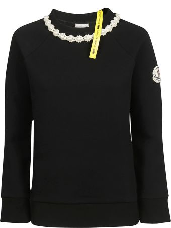 Moncler Embroidered Detailed Long Sleeve T-shirt