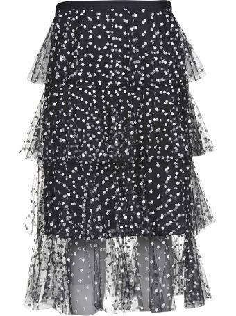 Philosophy di Lorenzo Serafini Polka-dot Print Skirt