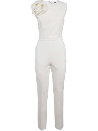 MSGM Double-layer Cady Jumpsuit