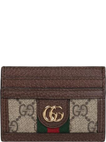 Gucci Ophidia Gg Supreme Card Holder