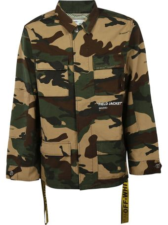 Off-White Camouflage Field Jacket
