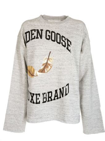 Golden Goose Oversized Printed Sweater