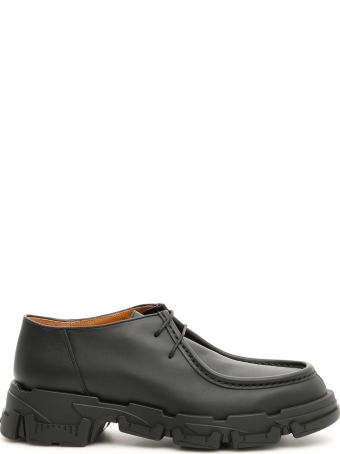 Lanvin Calfskin Derbies