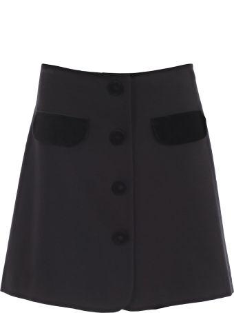 Vivetta Mini Buttoned Skirt