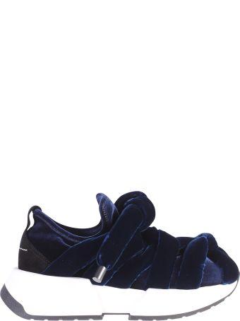 MM6 Maison Margiela Blue Velvet Sneakers