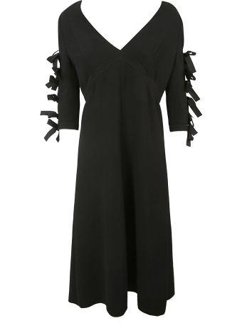 Bottega Veneta Tied Sleeve Dress