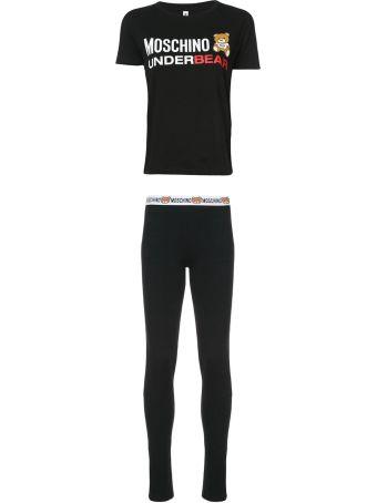 Moschino Underbear Cotton-jersey Pijama