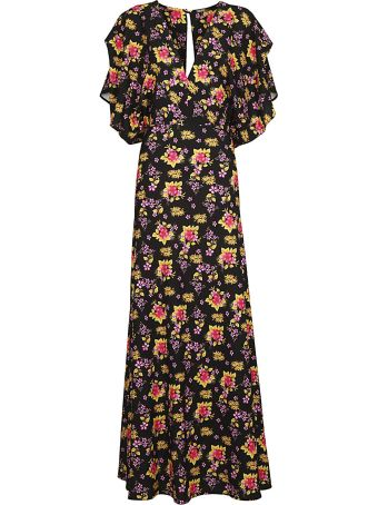 Dodo Bar Or Printed Floral Dress