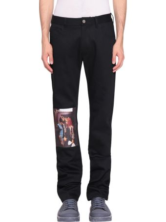 Raf Simons Christiane F. Kiss Patch Jeans