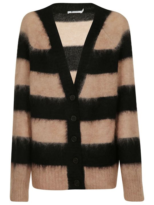 T by Alexander Wang Striped Cardigan