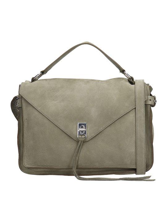 Rebecca Minkoff Green Nabuk Darren Messange Bag