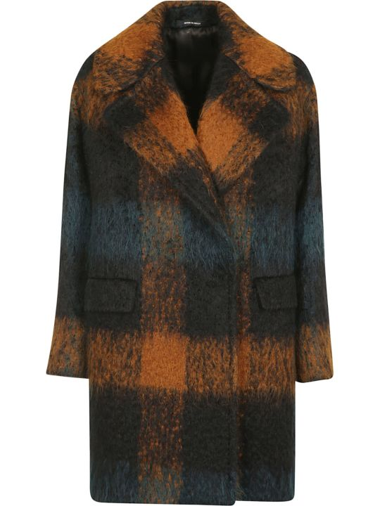 Tagliatore Checked Coat