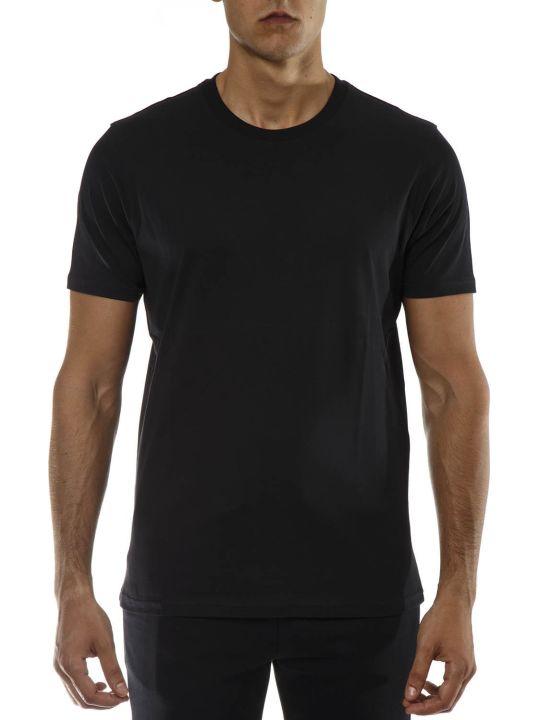 Versus Versace Versus Black Cotton Logo T-shirt