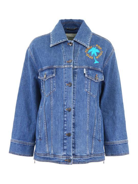 Fendi Pop Tour Denim Jacket
