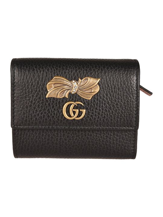 Gucci Bow French Wallet
