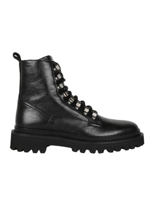 Balmain Ranger Army Leather Boots
