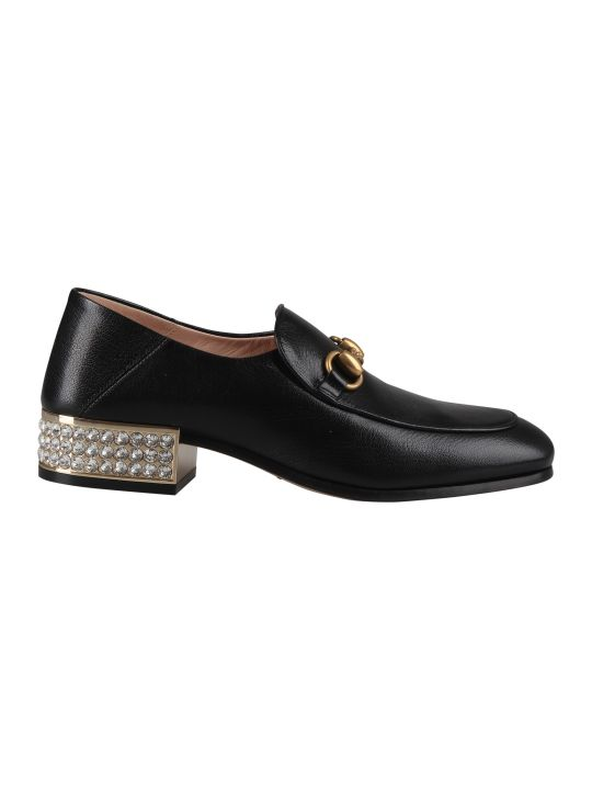 Gucci Embellished Loafers