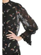 Chloé Paisley Lurex Jacquard Blouse - black