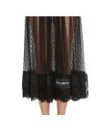 Dolce & Gabbana Voile Plumetis Skirt