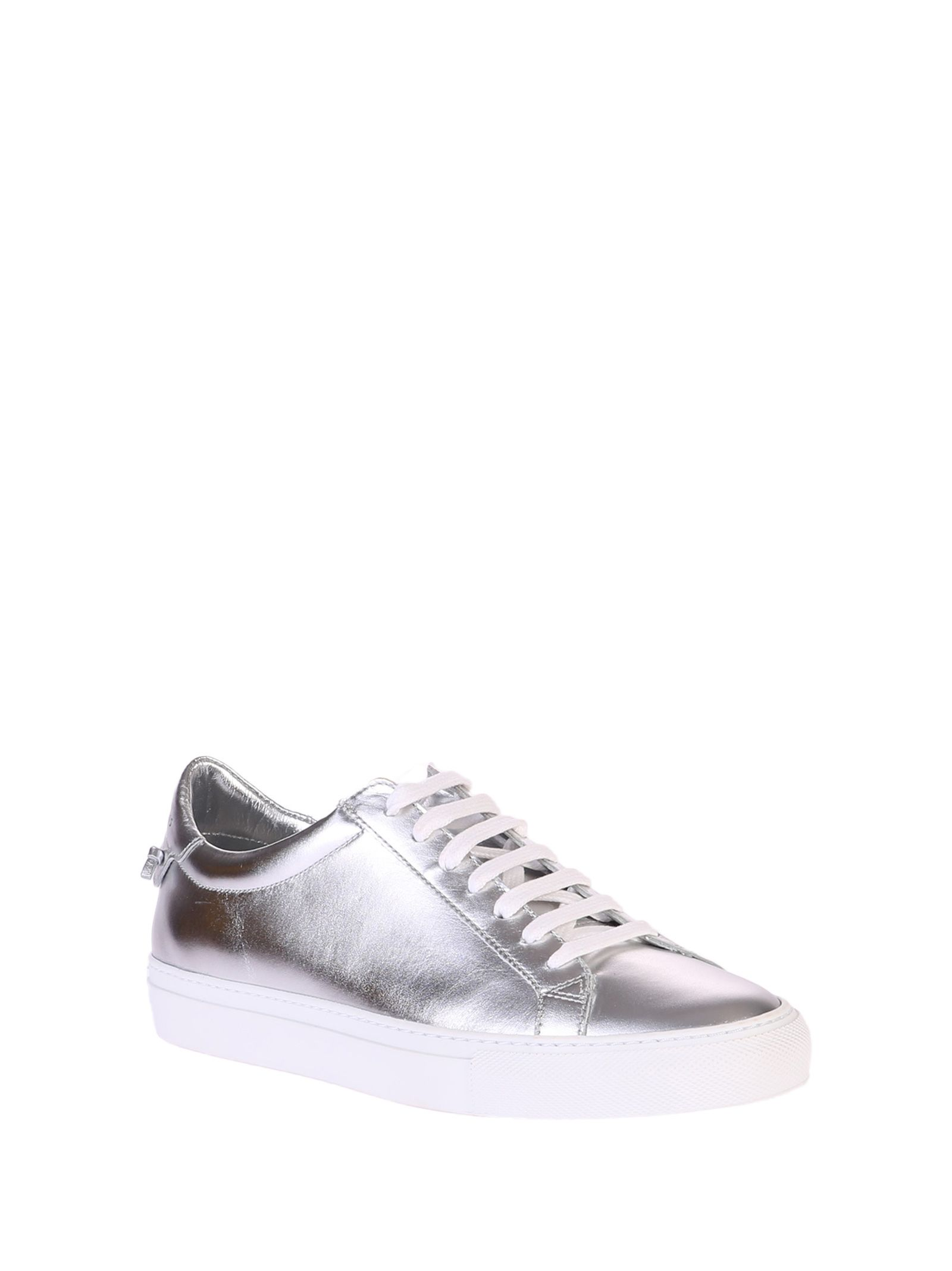 Givenchy Metallized Silver Sneakers Clearance Best Cheap 2018 Unisex Cheap Sale Fashion Style Buy Cheap Latest ObaLtSi