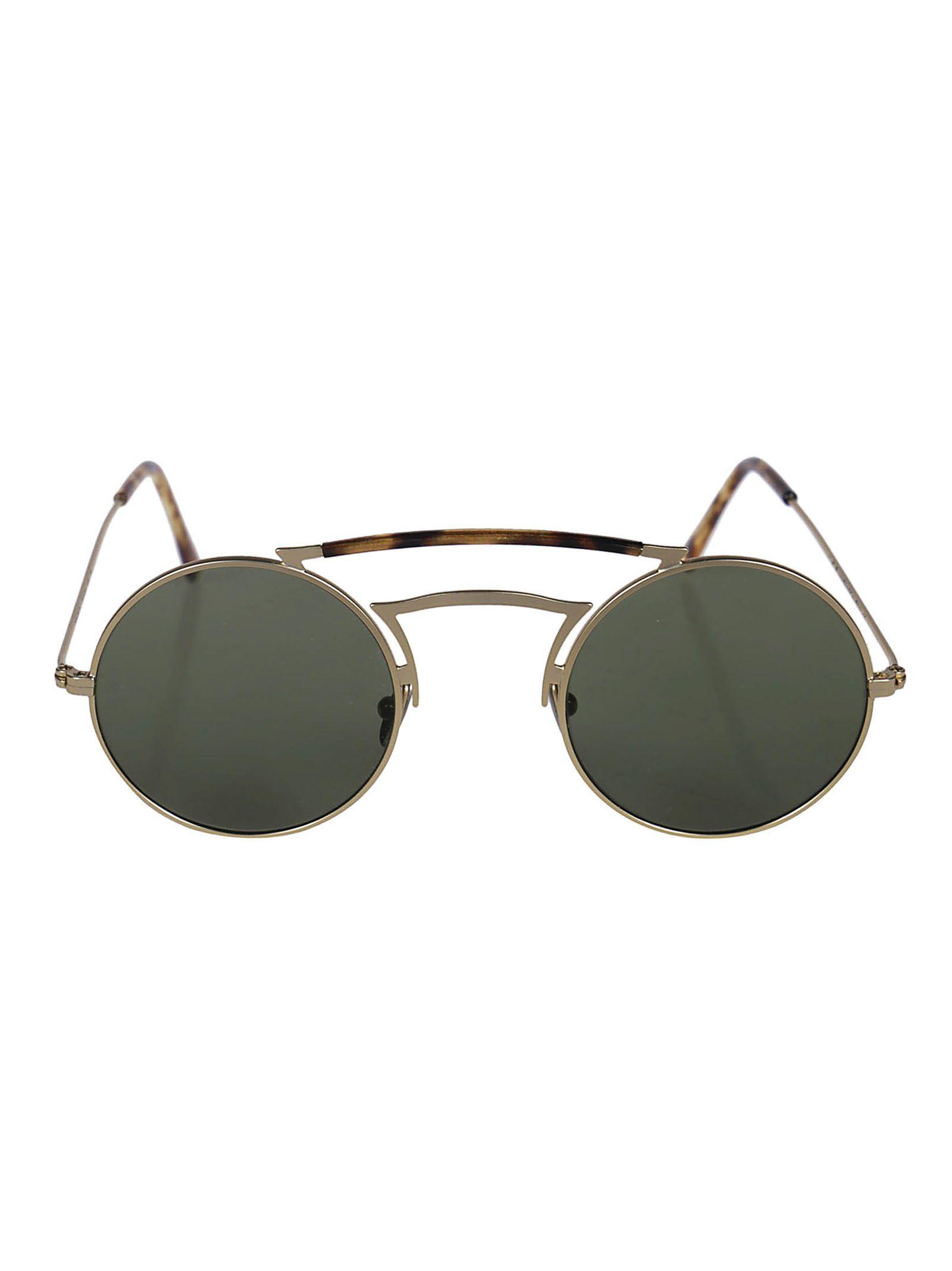 L.G.R Lgr Scarab Sunglasses in Gold Matt