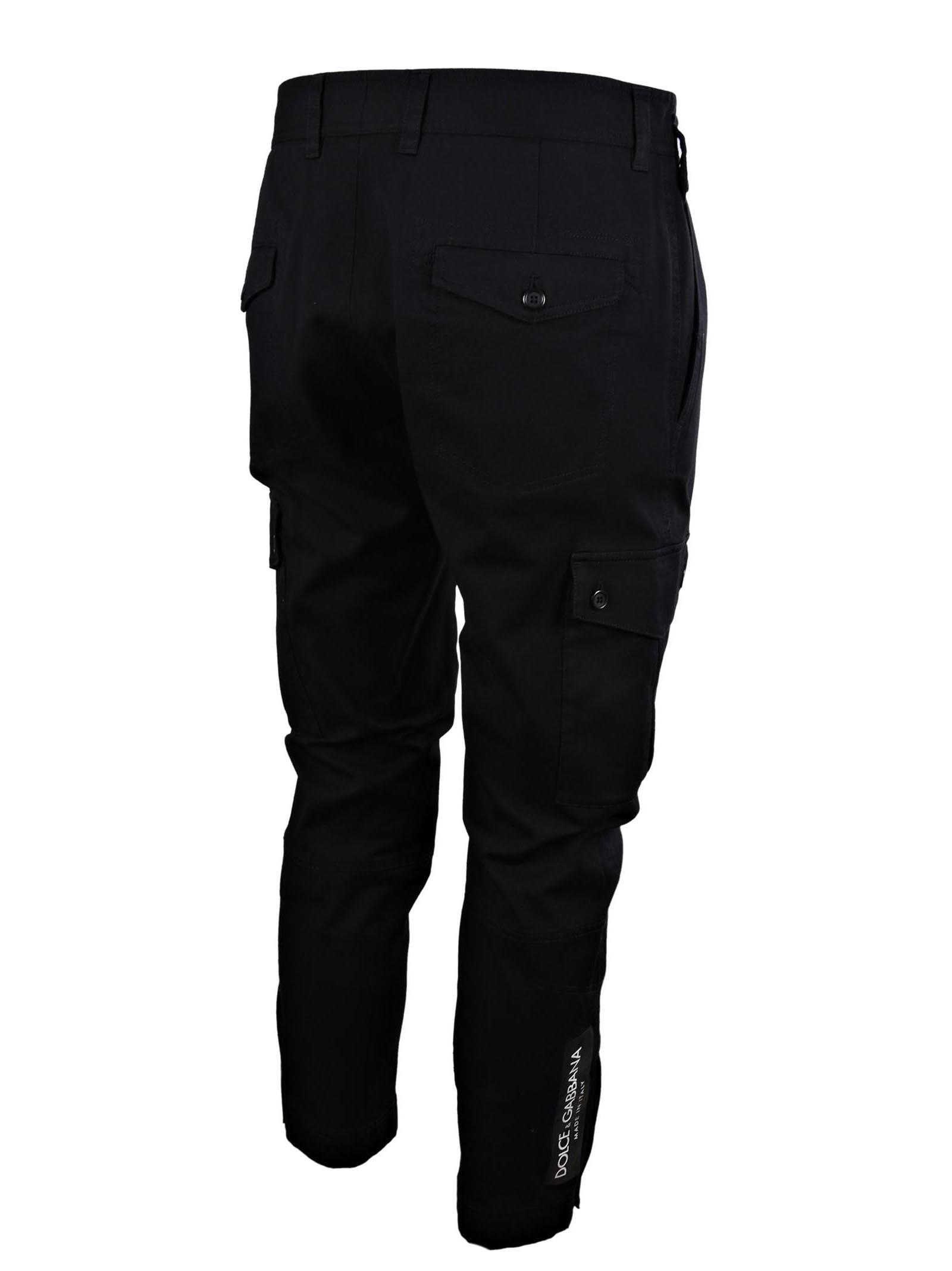 cropped cargo trousers - Black Dolce & Gabbana BTLIUBvAt