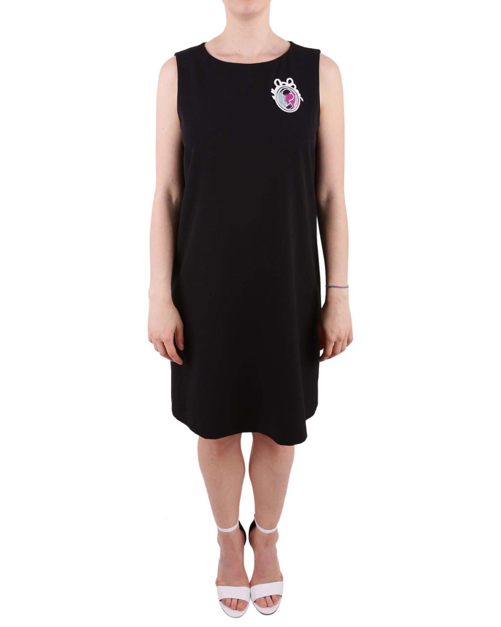 BOUTIQUE MOSCHINO CREPE DRESS