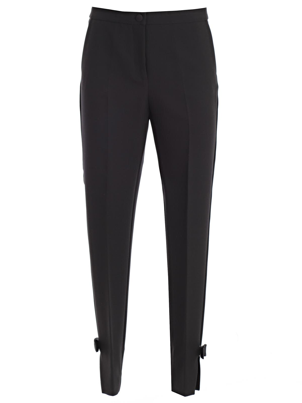 BLUMARINE TAPERED CROPPED TROUSERS