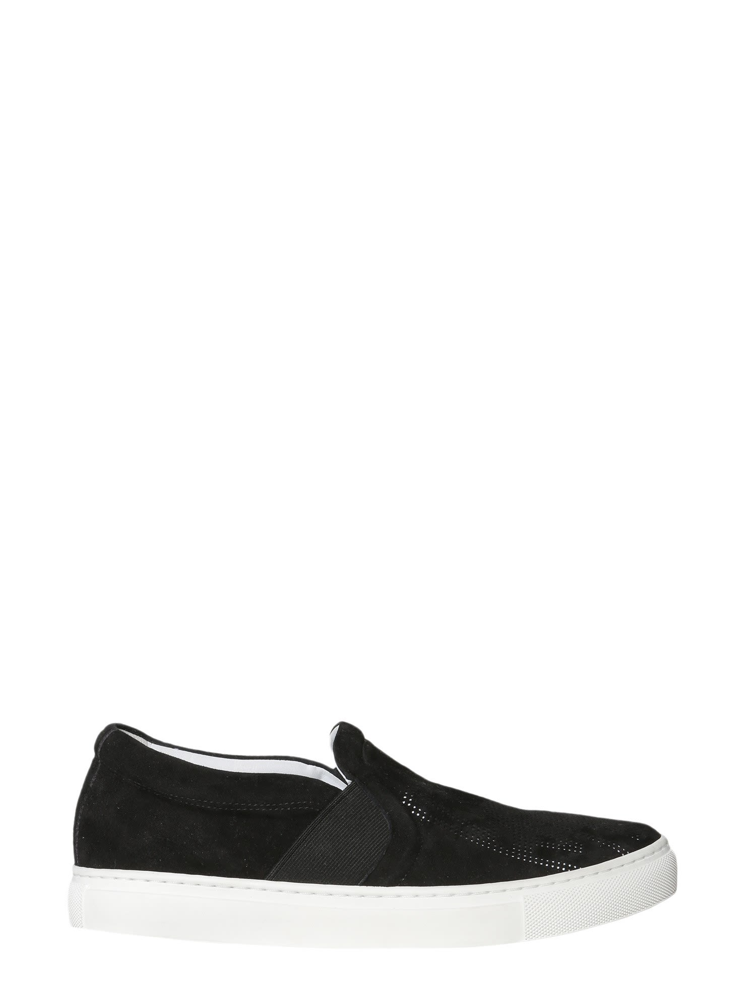 Slip-on With Openworked Logo