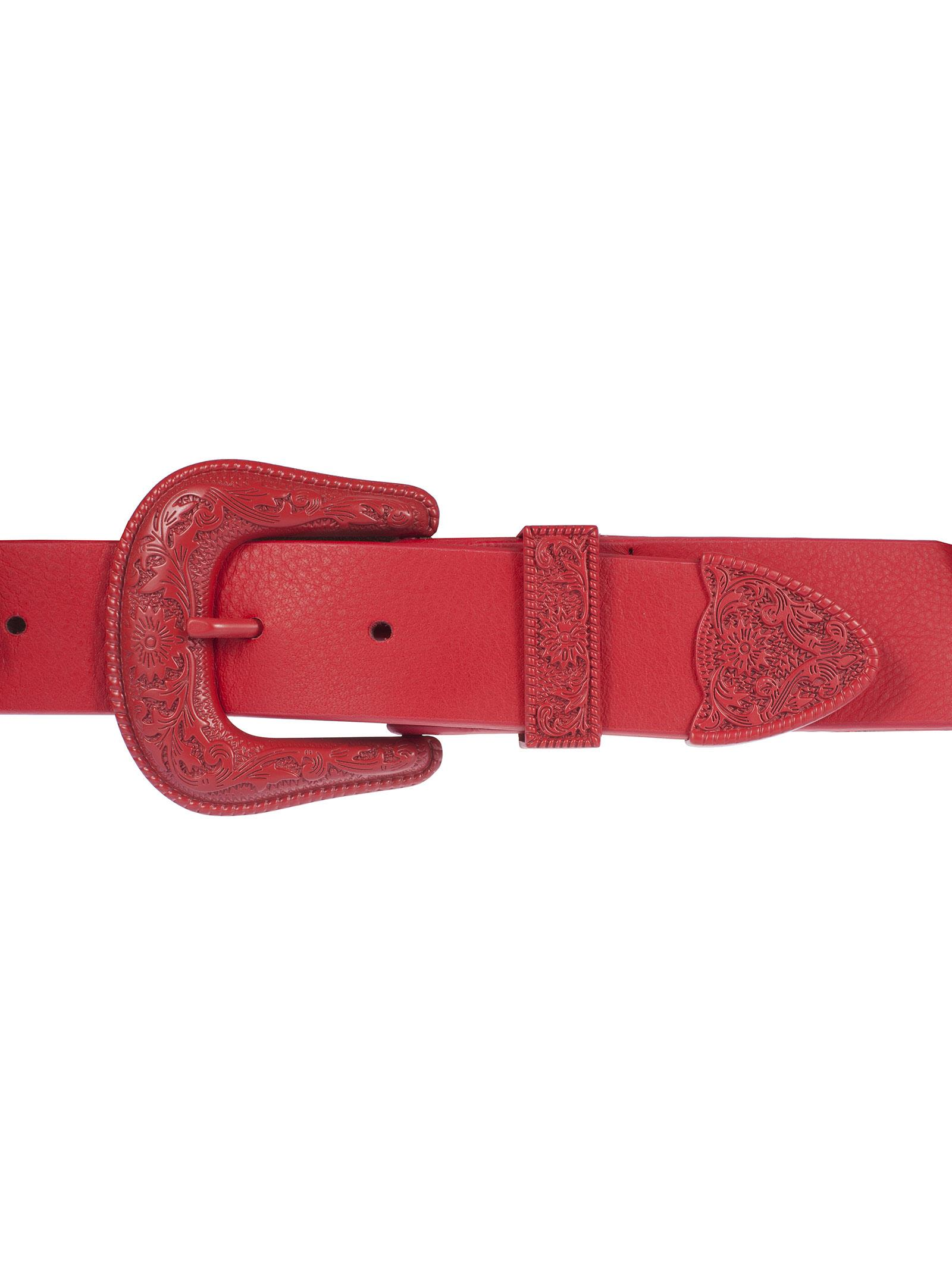 western double buckle belt - Red B-Low The Belt VUoe7