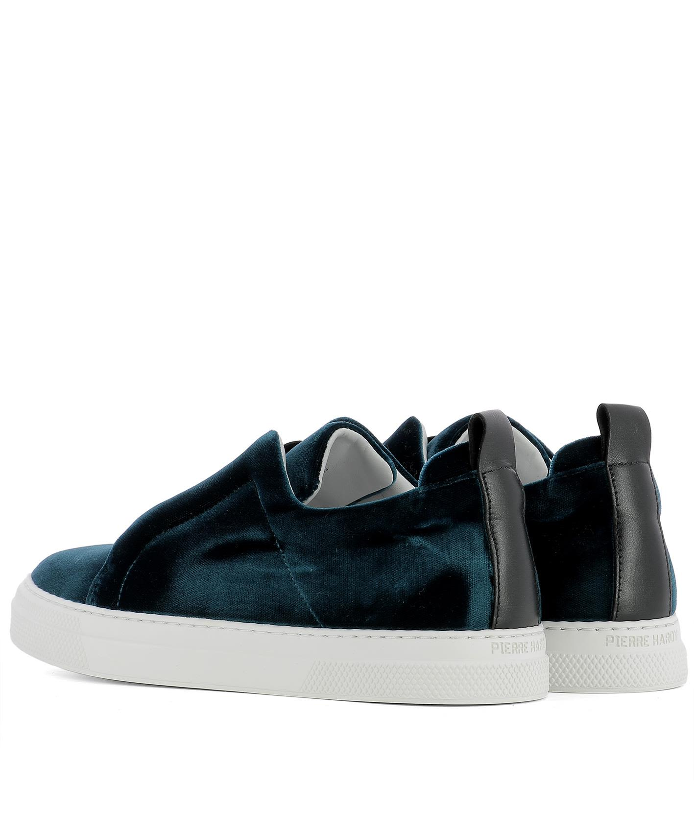 Pierre Hardy Women's Blue Velve... shop for online cheap extremely buy cheap visit get authentic cheap price CwpdqdBCo