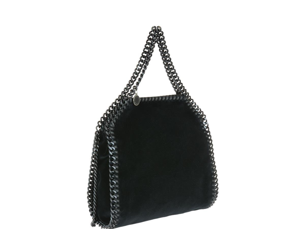 Stella McCartney Tote Bag On Sale, Mini, Black, polyester, 2017, one size