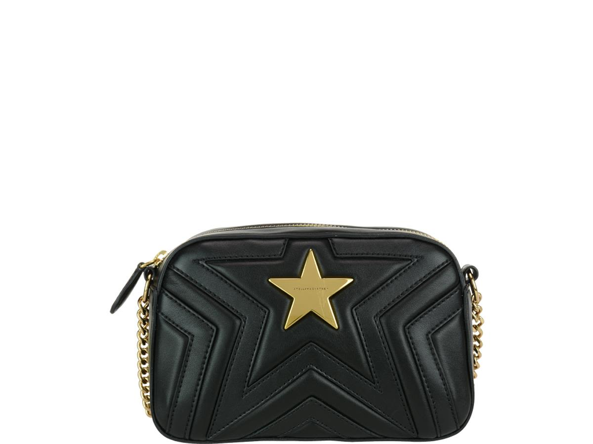 Stella Mccartney Stella Star Bag In Black  d17bb6510782e
