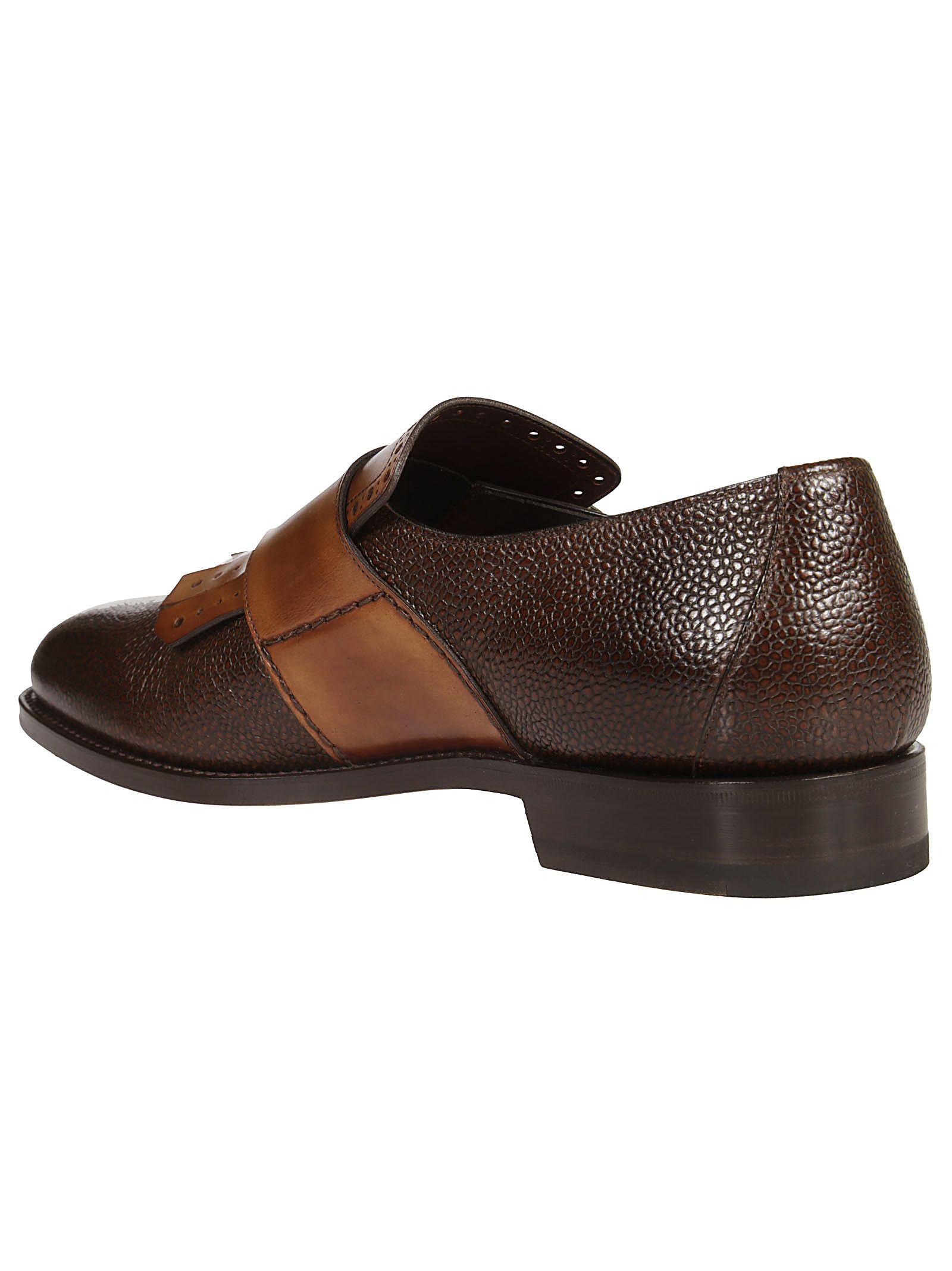 Santoni Écorchés Derby Chaussures i3mqyL