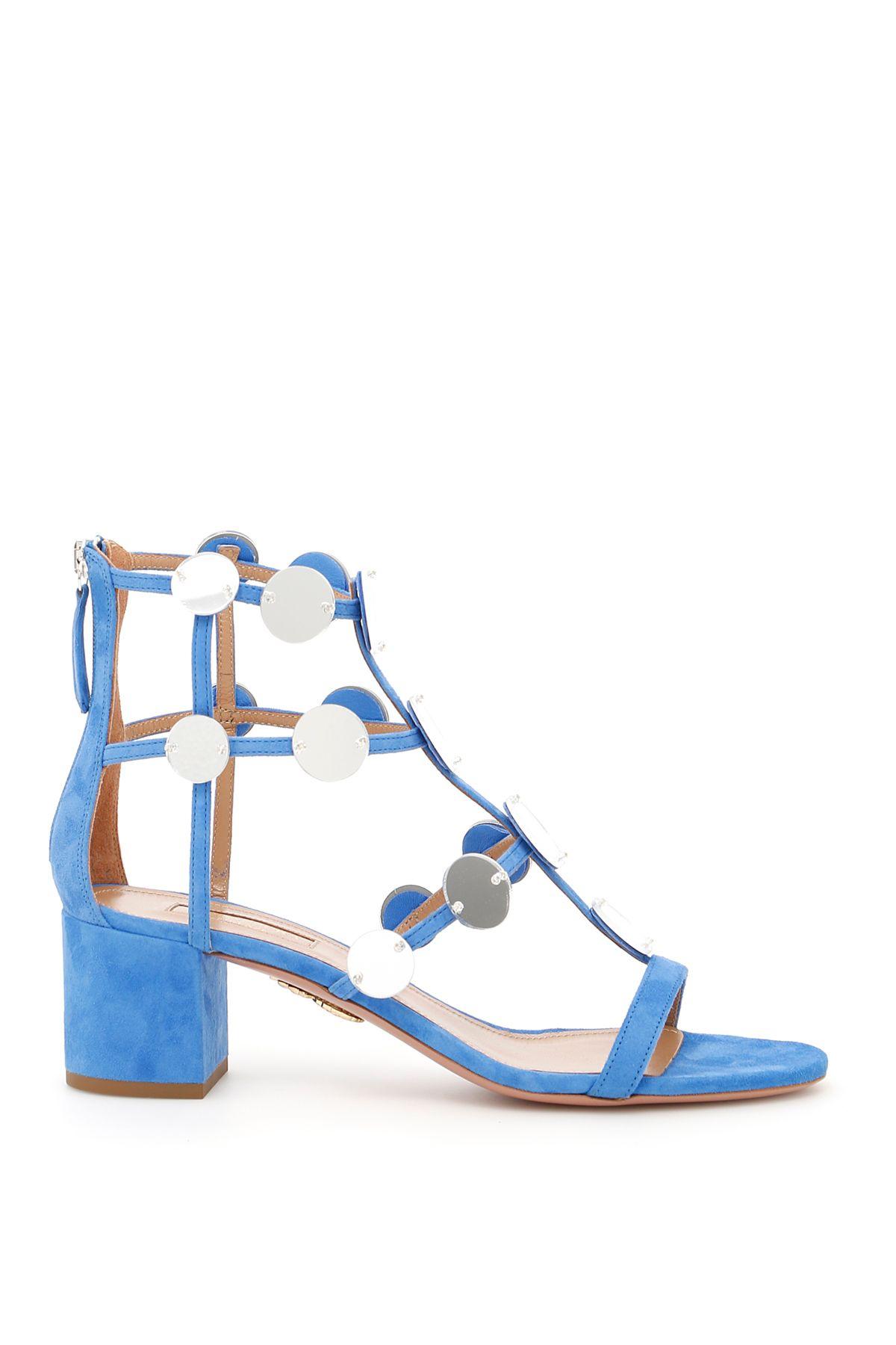 Light blue Indian Moon sandal Aquazzura gN9Ax