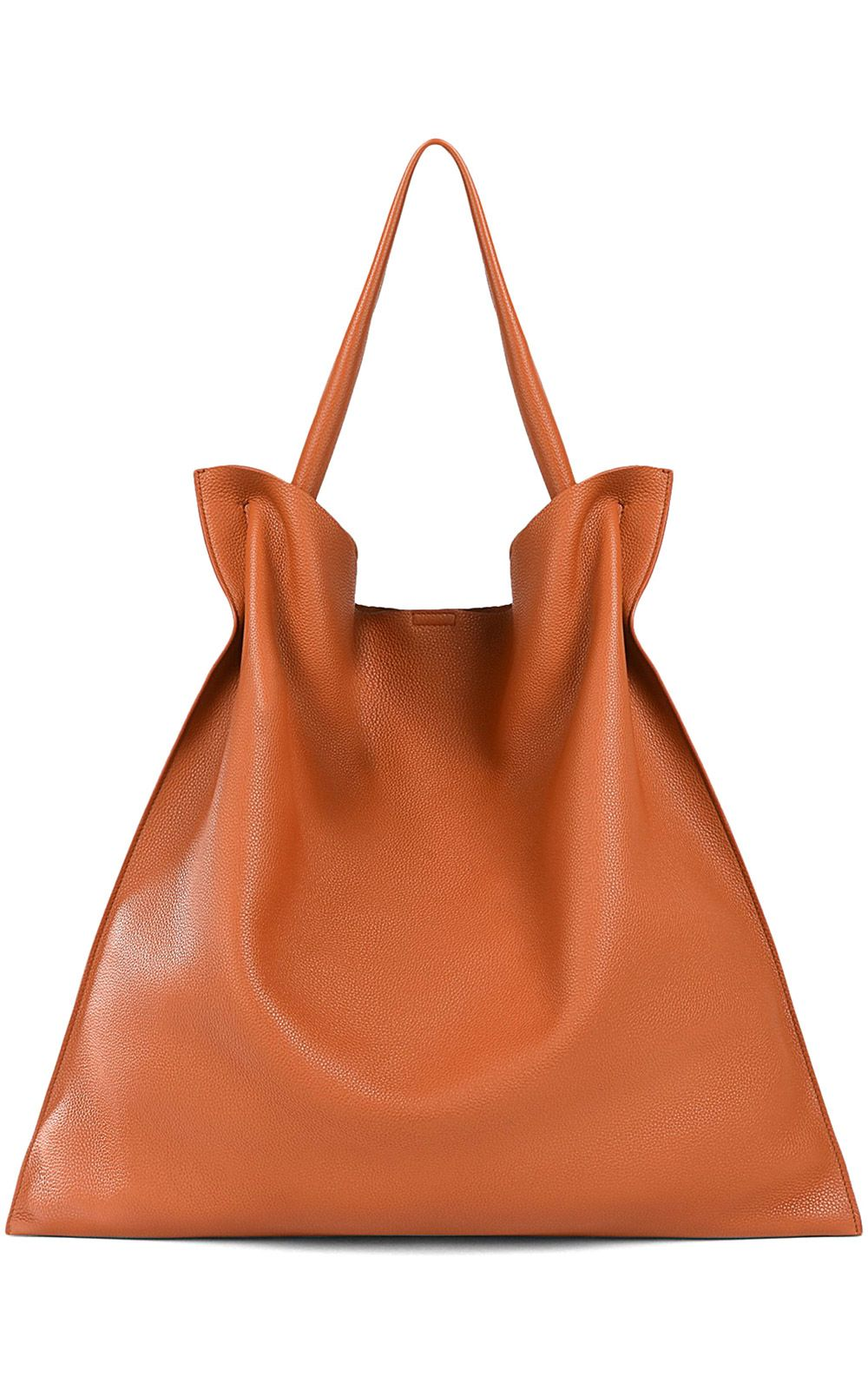 cadd04078eb21 Jil Sander - Jil Sander Xiao Md Grained-leather Tote - Cuoio ...