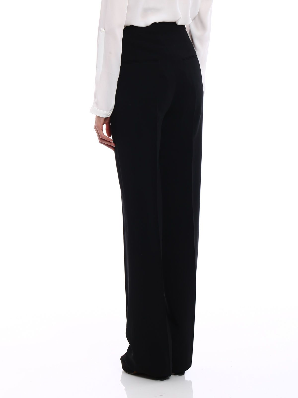 high rise tailored trousers - White Dsquared2 fzlUNfH0JQ