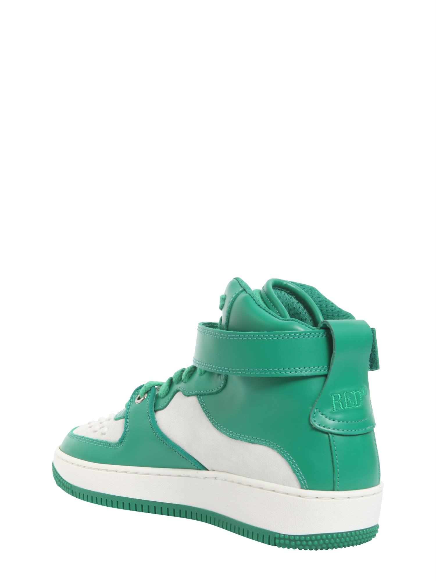 RED Valentino Hight top sneakers with velcro iFXGw7y