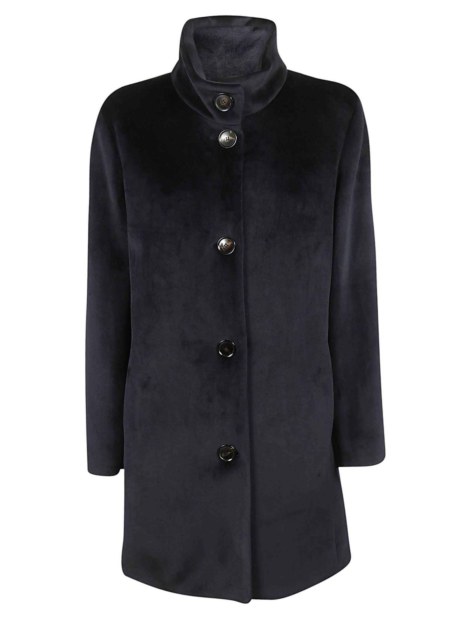 RRD - ROBERTO RICCI DESIGN Rrd - Roberto Ricci Design Buttoned Coat in Black