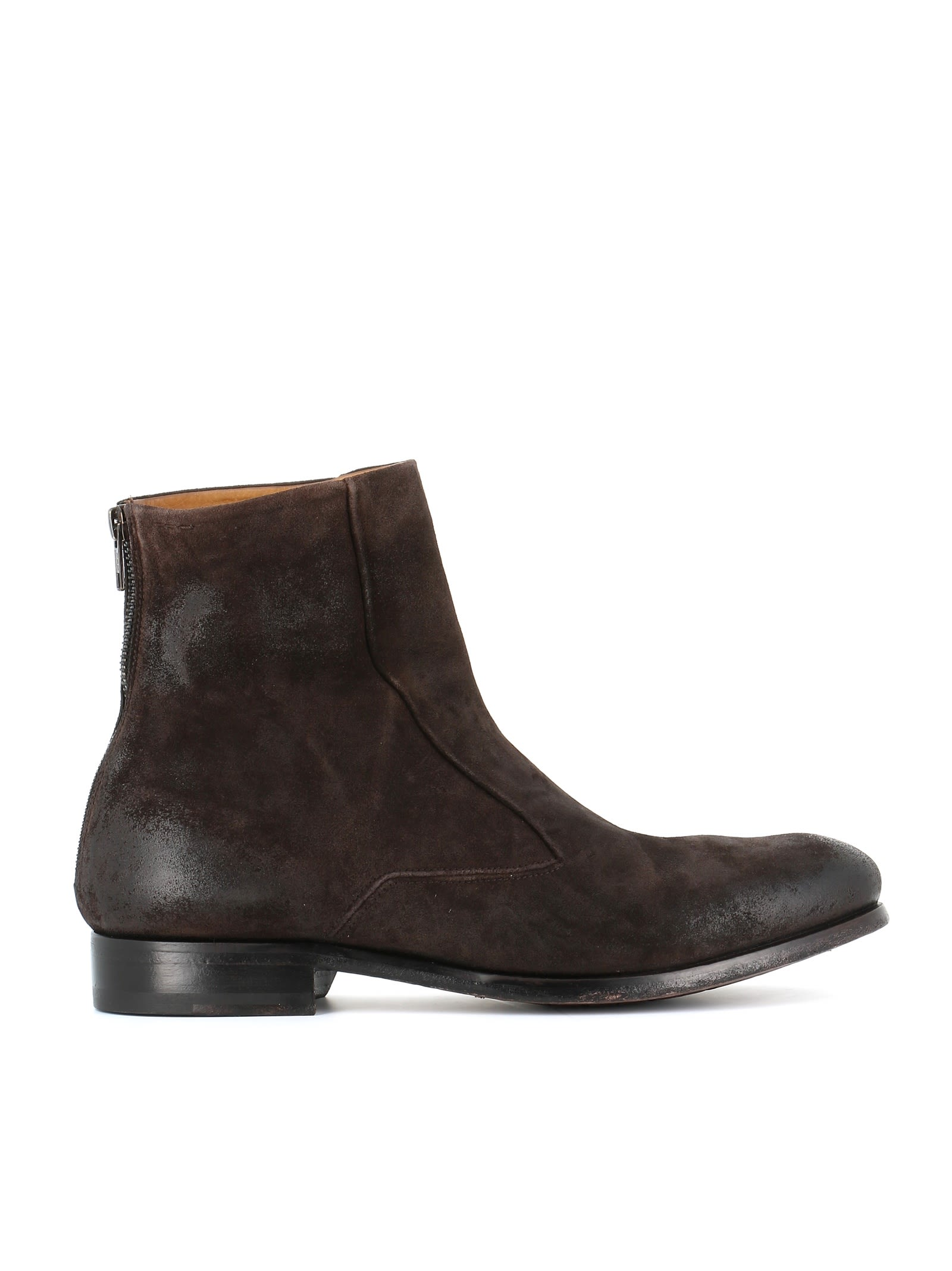 """ALEXANDER HOTTO Ankle Boot """"54034"""" in Brown"""