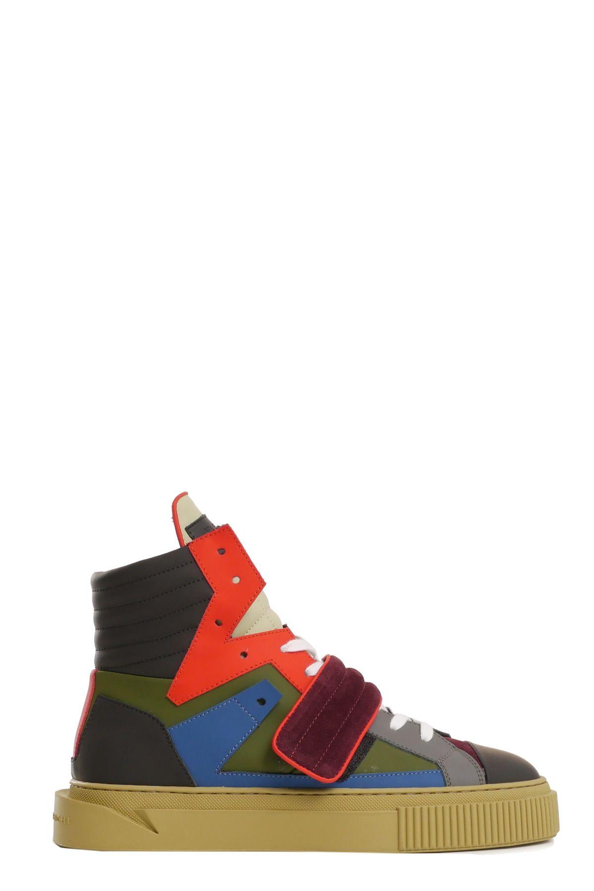 GIENCHI Sneakers in Verde/Azzurro