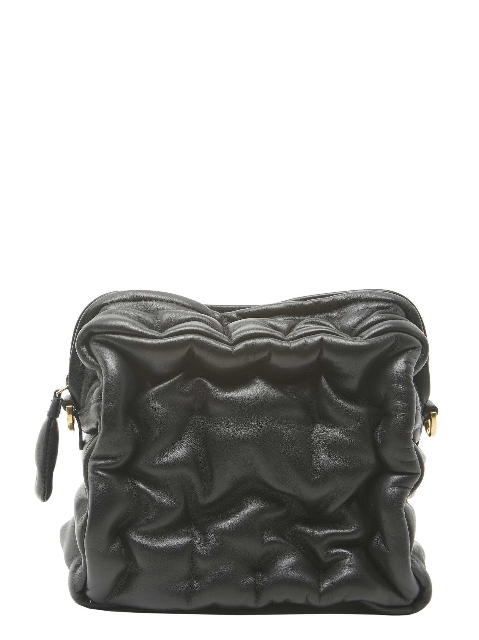 651ecb843 ANYA HINDMARCH CHUBBY CUBE BAG, BLACK | ModeSens