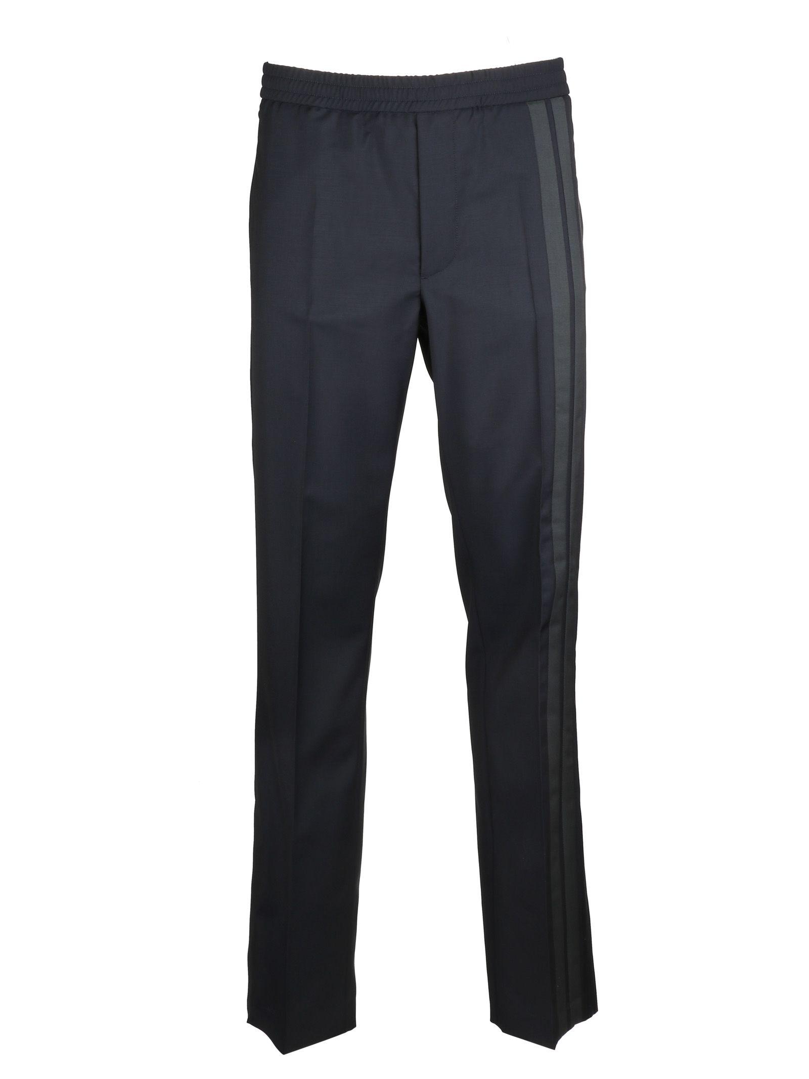 VALENTINO STRIPED TRACK PANTS