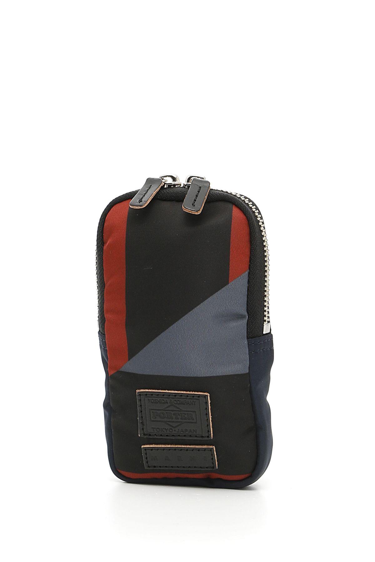 Marni porter pouch grey grigio men 39 s luggage italist for Men a porter